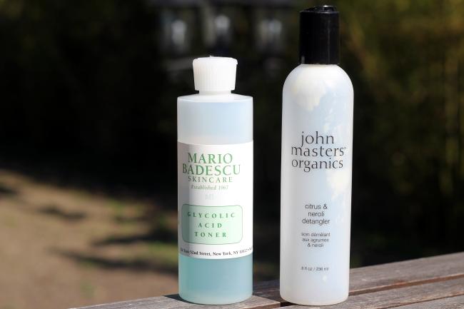 mario badescu john masters organics