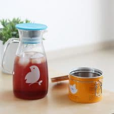 Un délicieux thé glacé