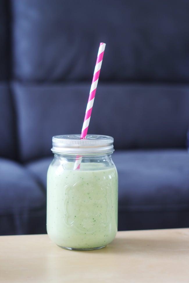 smoothie vert santé
