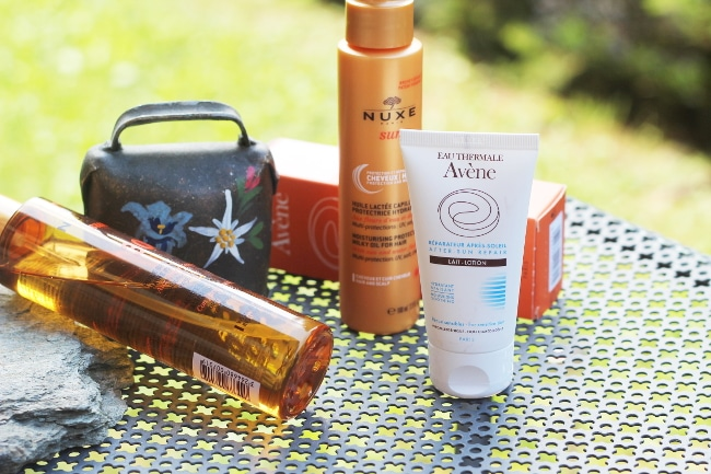 routine solaire avène nuxe