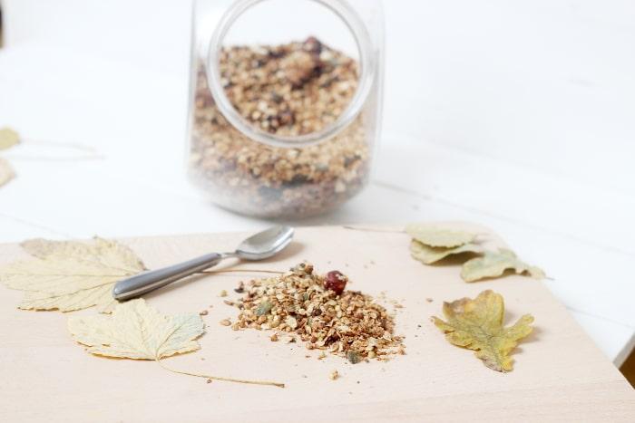 granola maison sans gluten