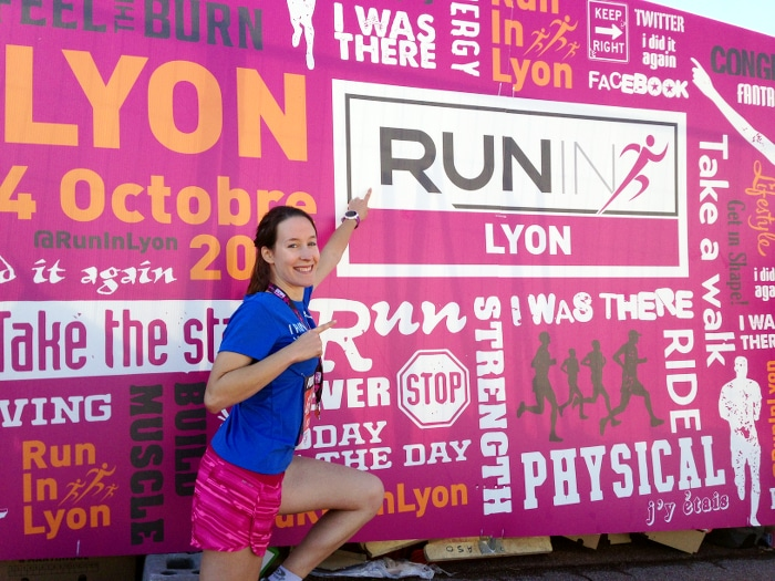 semi-marathon run in lyon