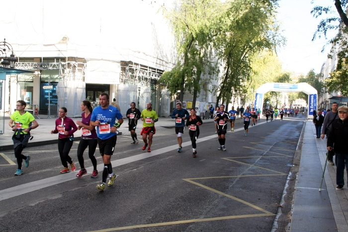 semi-marathon run in lyon