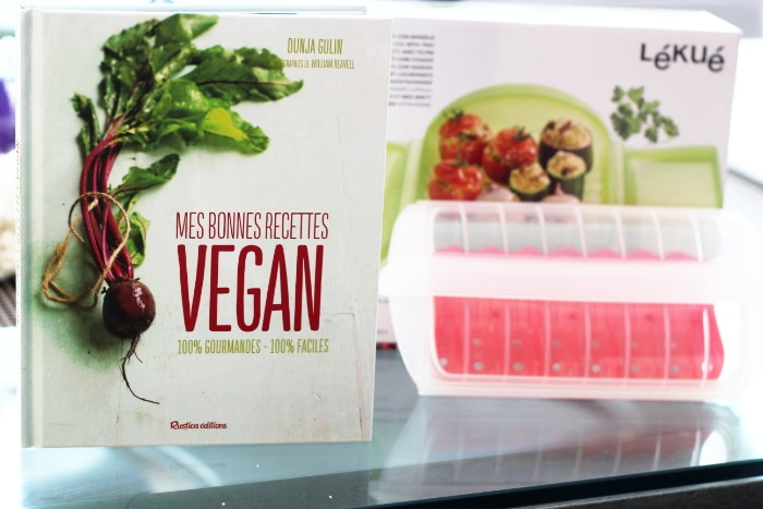 livre recette les bonnes recettes vegan et papillotte lekué