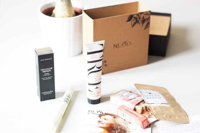 nuoo box de février (box beauté bio et naturelle)