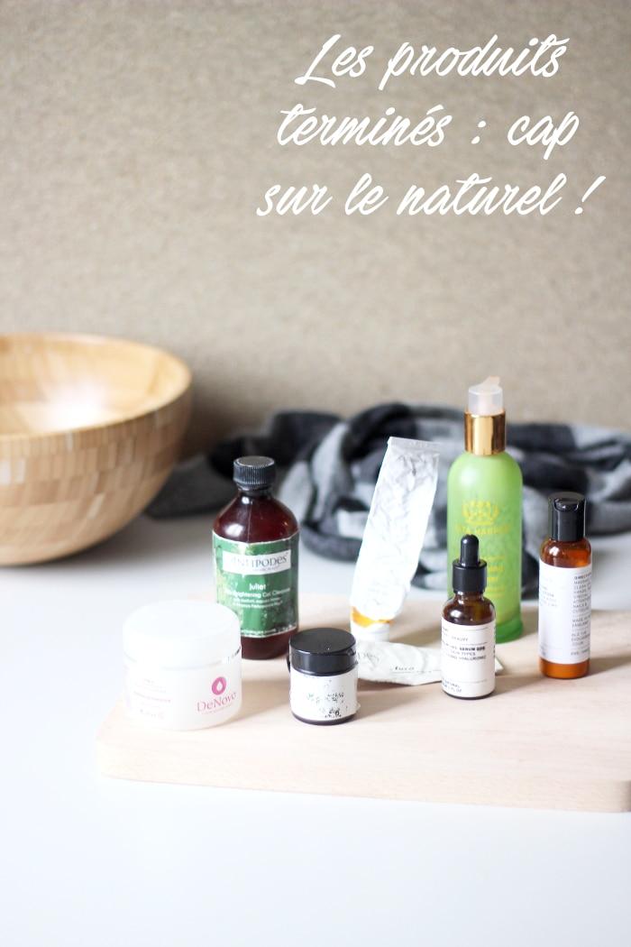 les produits terminés naturel : antipodes, tata harper, denovo, evolve beauty, dr. hauschka