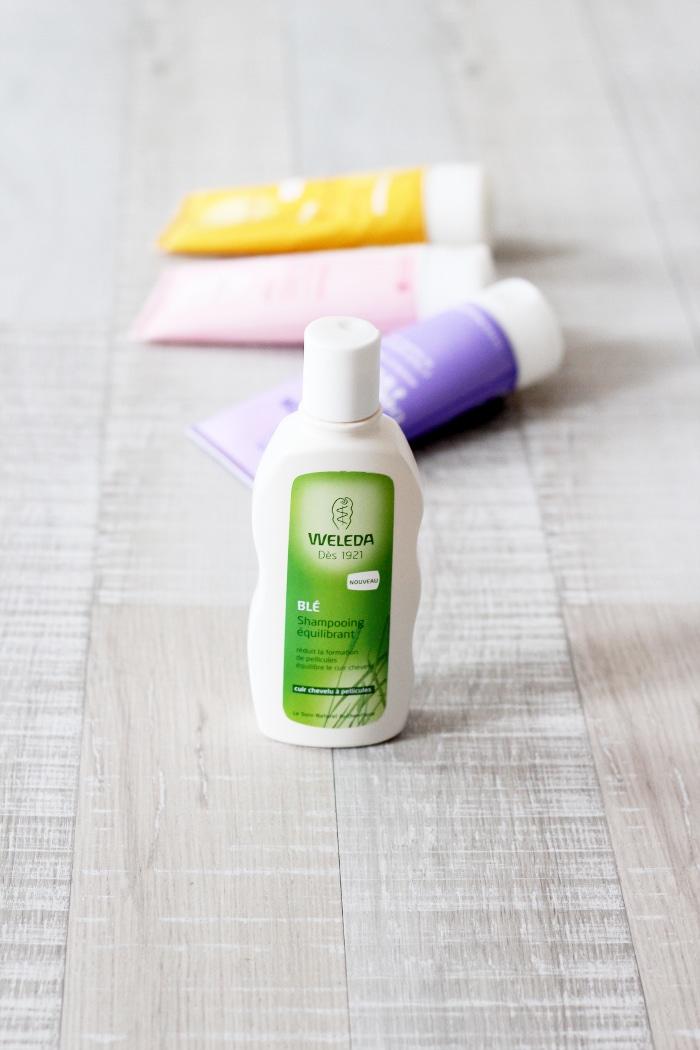 weleda shampooing équilibrant blé