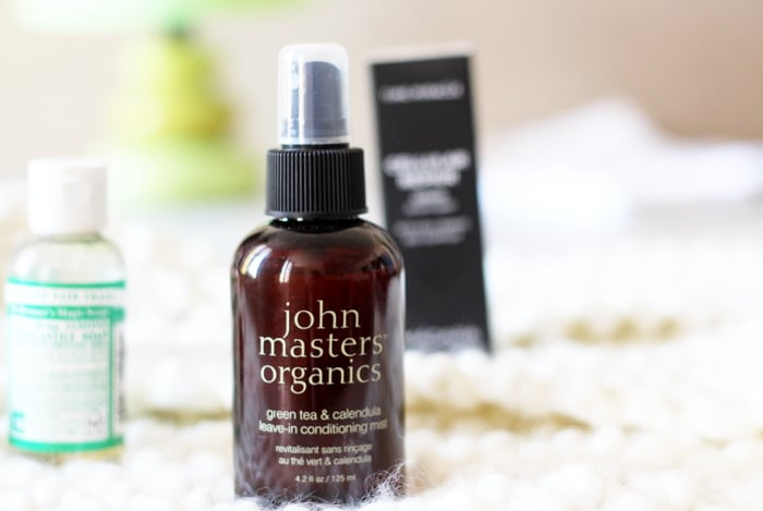 john masters organics leave in mist calendula tea
