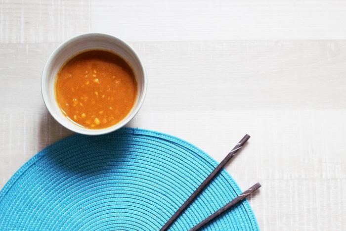 rouleaux de printemps vegan sauce cacahuète