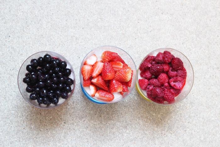 verrines de pudding de tapioca au lait de coco, vegan et sans gluten