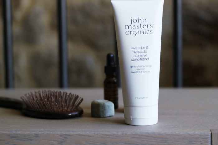 après-shampooing intensif lavande et avocat john masters organics