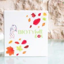 La Biotyfull Box de septembre