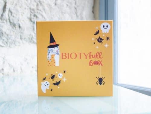 Box beauté bio et naturelle : la biotyfull box d'octobre