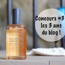 Le blog a 3 ans #3 : Gagne 3 produits de soin avec Mademoiselle Bio ! (Concours)