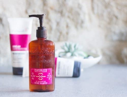 nouveautés cheveux : le shampooing divin La Fare