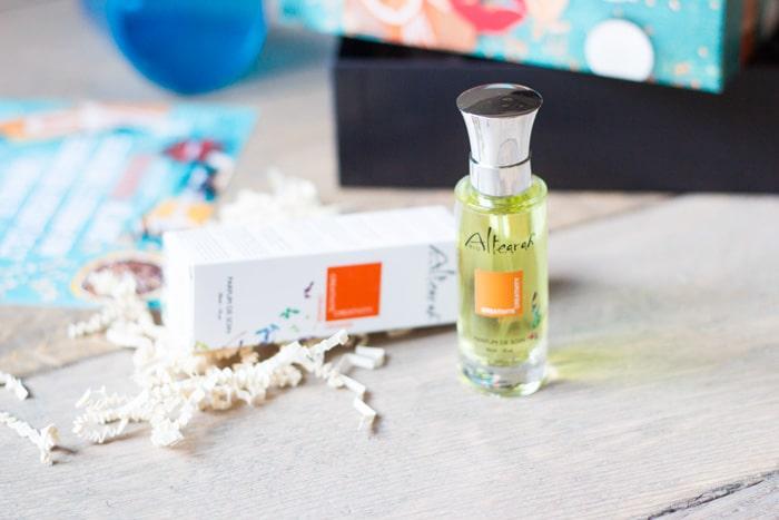 l'eau de parfum de soin altearah bio biotyfull box de novembre