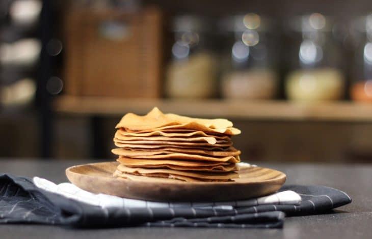 pancakes vegan fait maison