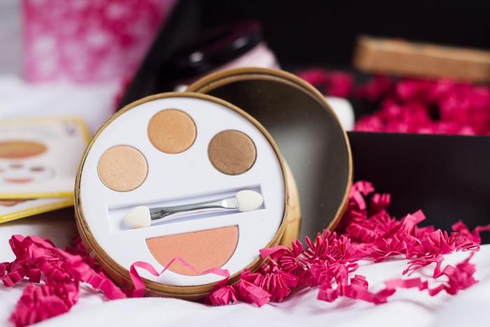 couleur caramel palette yeux et joues