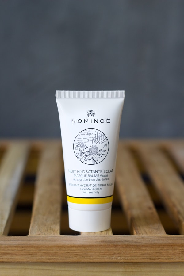 nominoe masque baume nuit hydratant