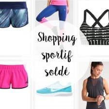 Shopping sportif spécial soldes