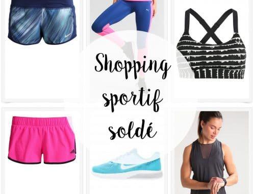 sélection shopping sport soldes