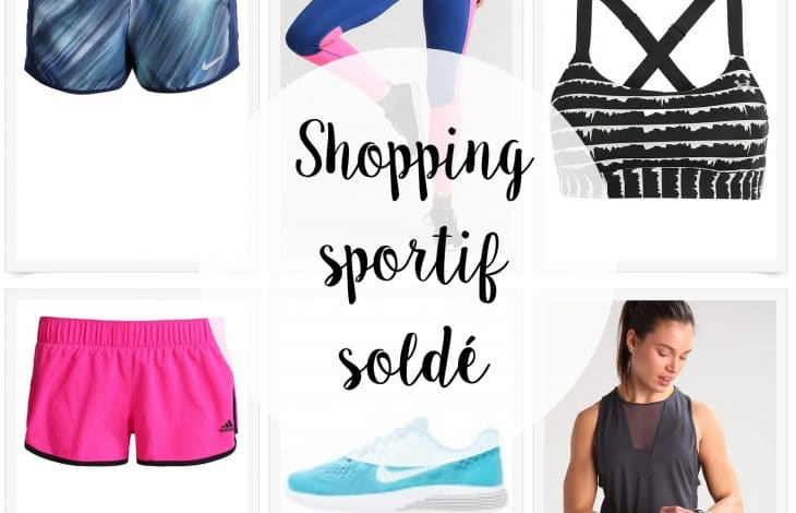 Shopping sportif spécial soldes