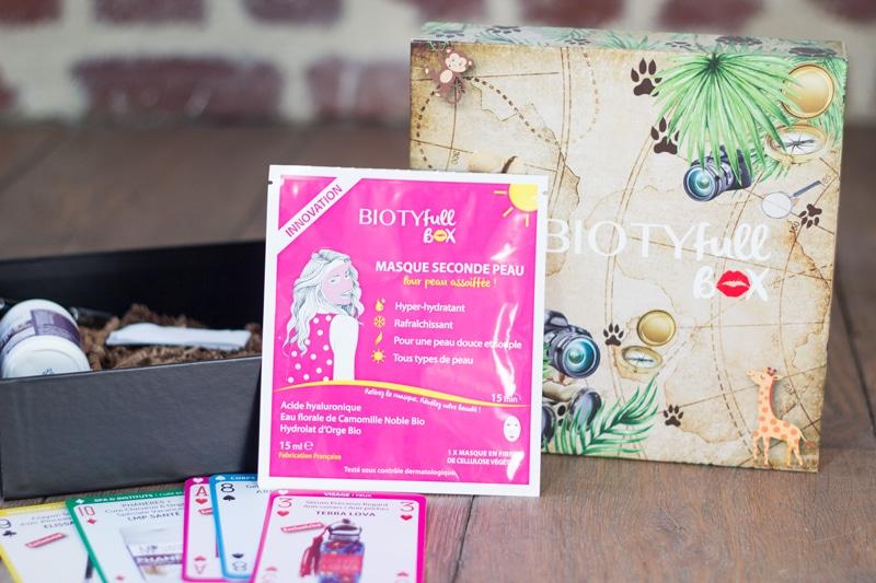 masque hydratant biotyfull box