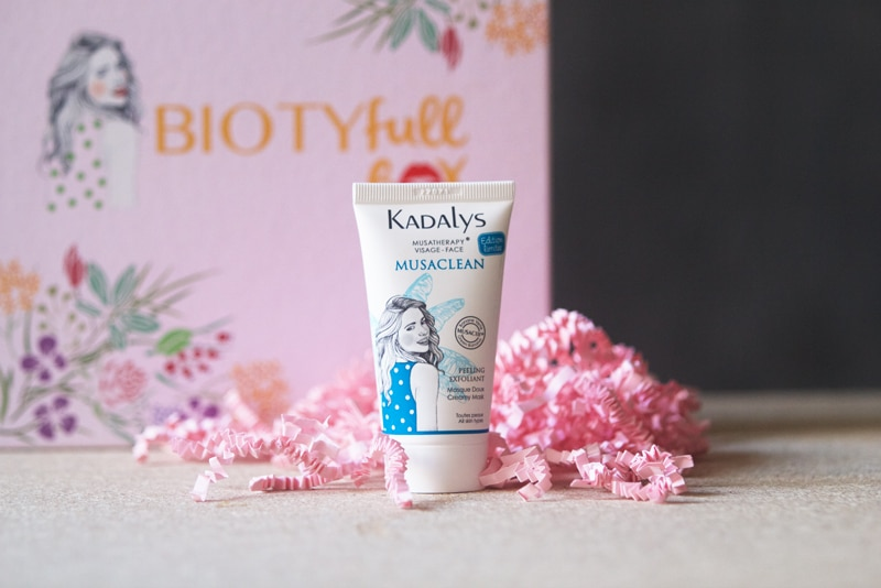 masque peeling kadalys x biotyfull box
