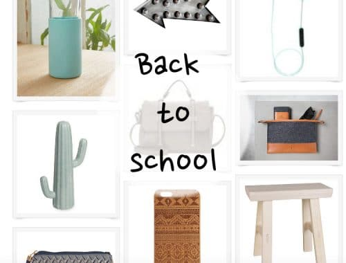 inspirations rentrée shopping back to school