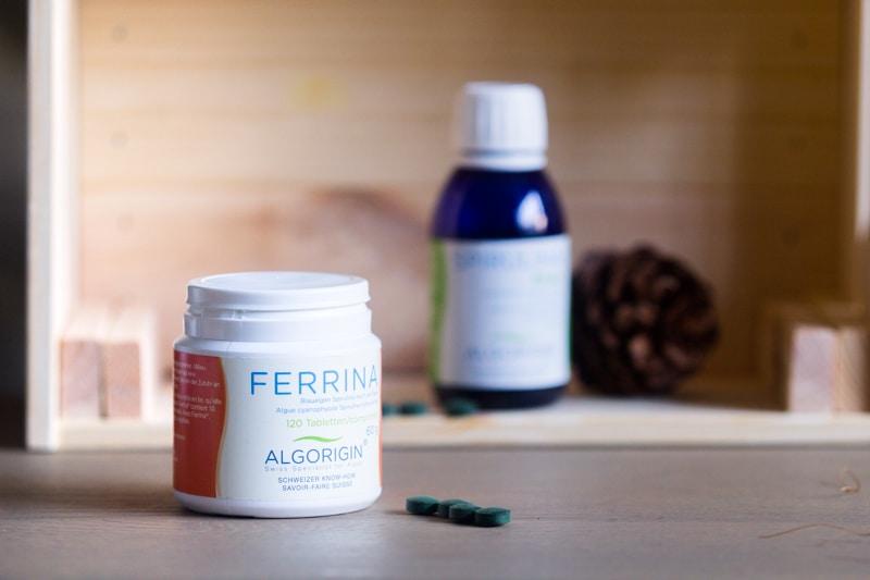 compléments alimentaires naturels : spirulina fe algorigin