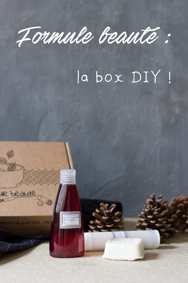 formule beauté box DIY