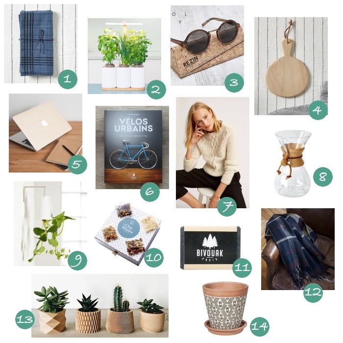 50 idées cadeaux pour un Noël Green   Rhapsody in Green