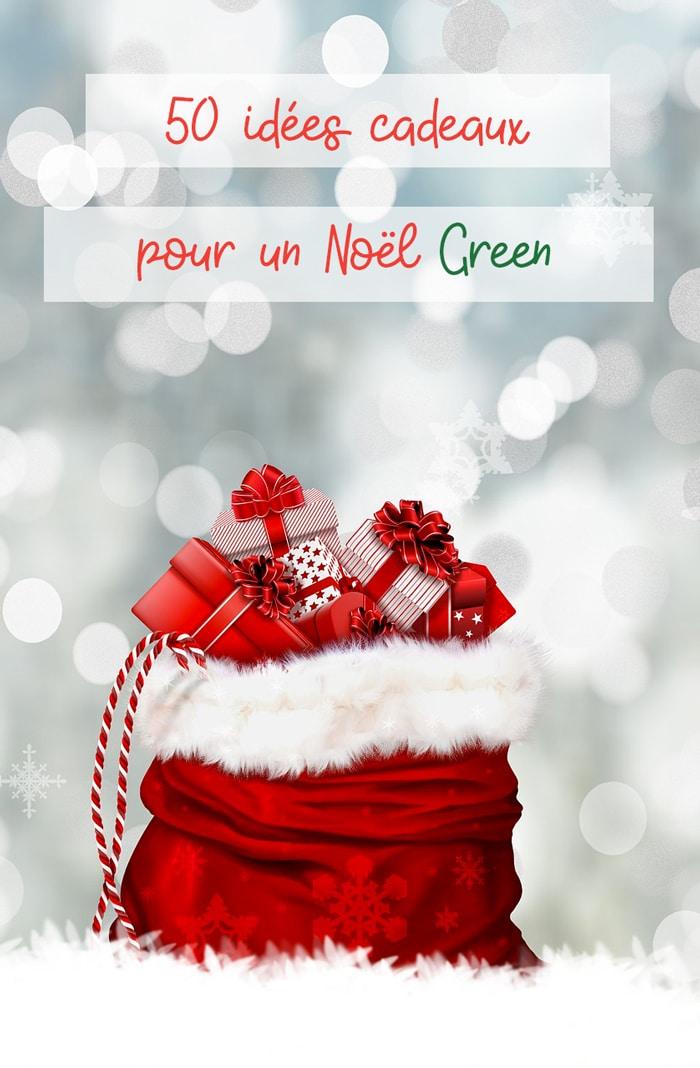 idées cadeaux pour un noël green