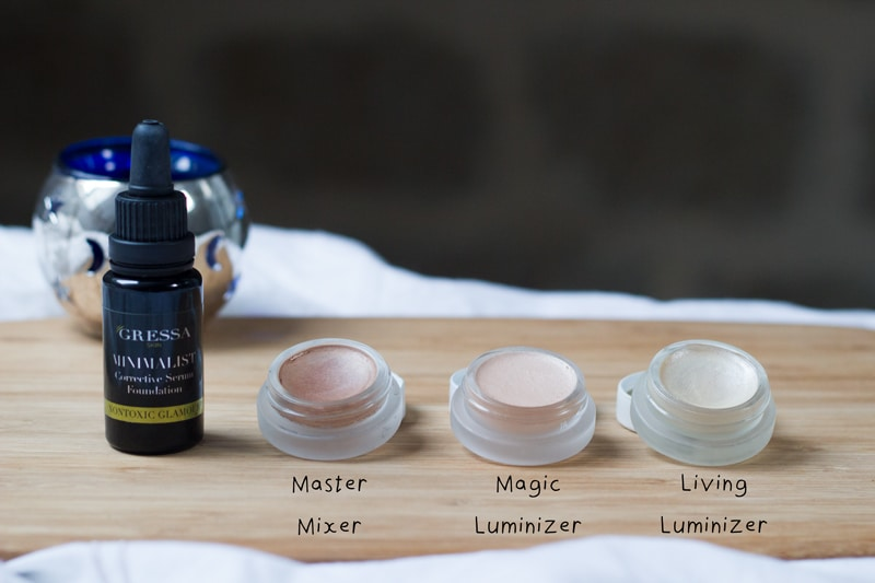rms beauty enlumineurs master mixer living luminizer et magic luminizer