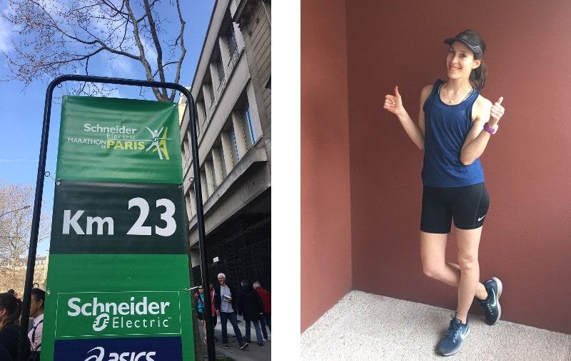 supporter marathon paris