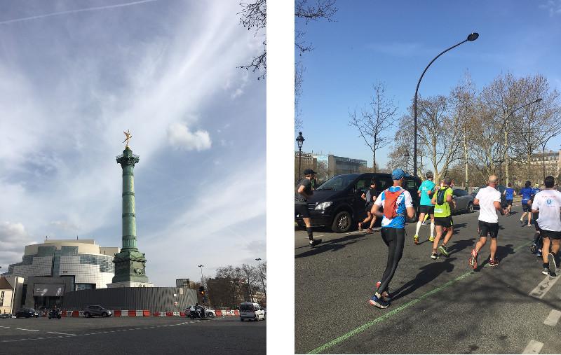 bénévole marathon paris