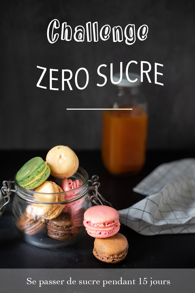 challenge zéro sucre pendant 15 jours