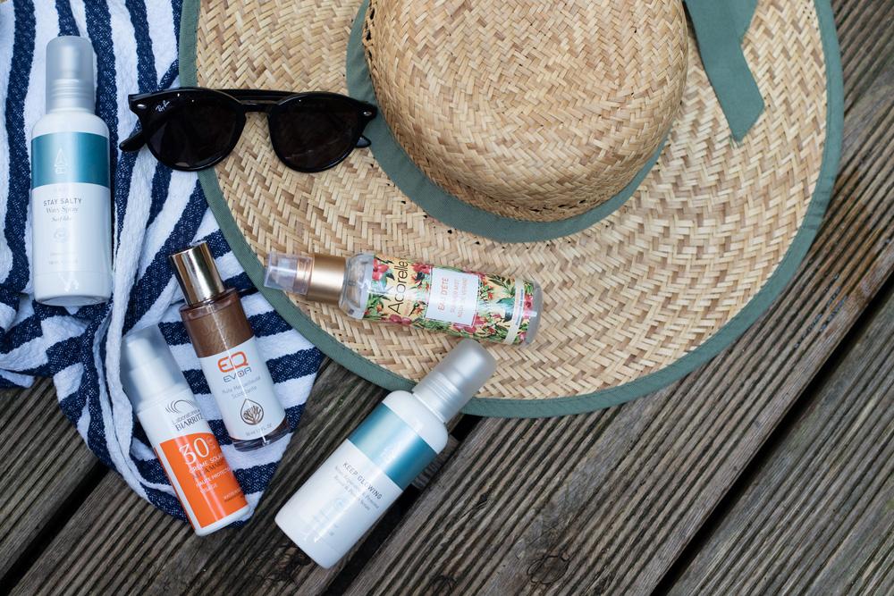 soins solaires pour l'été