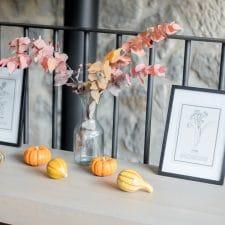 La décoration d'automne de mon appartement