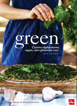 livre green pour cuisiner végétarien et vegan