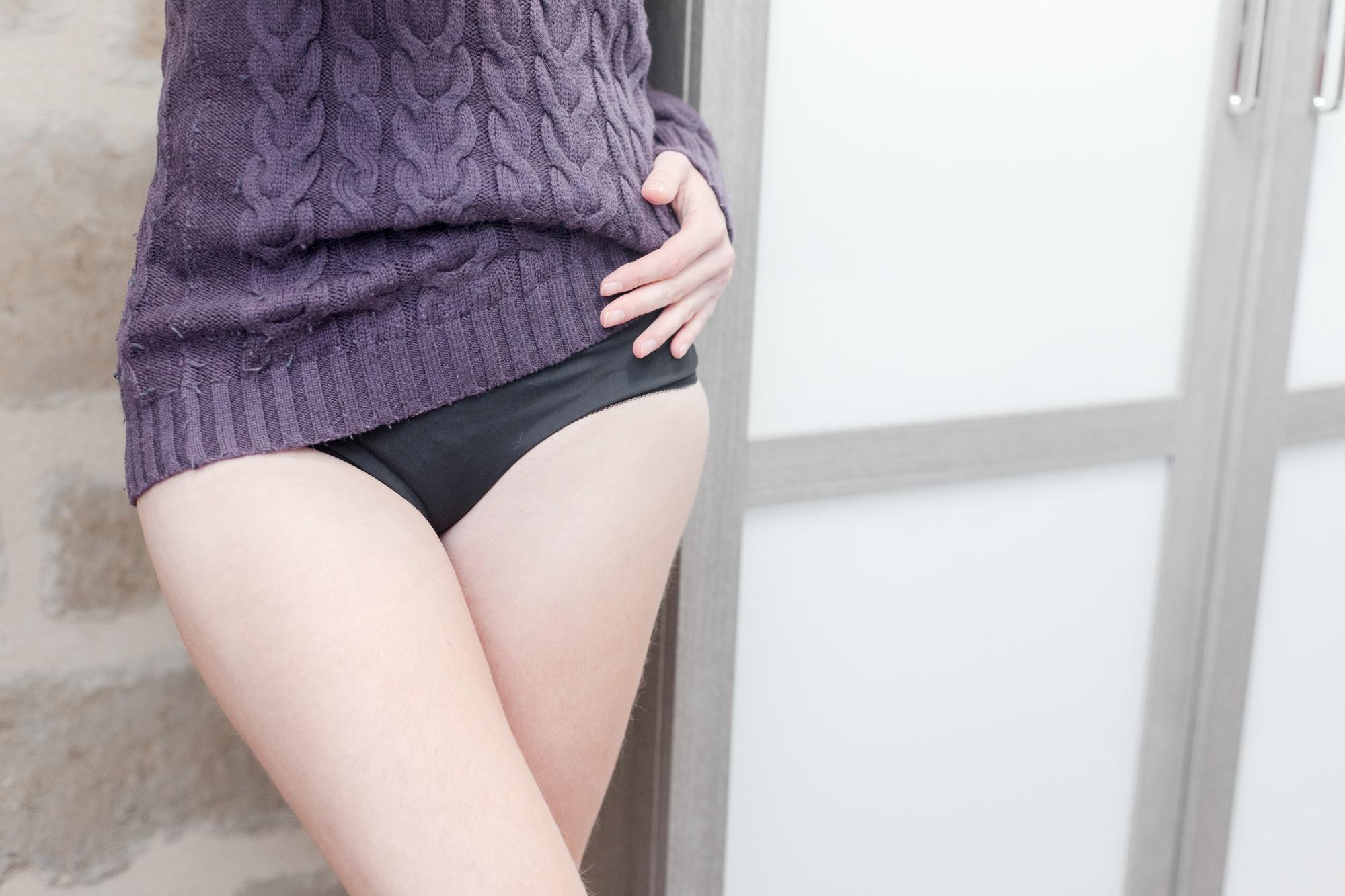 test et avis sur la culotte menstruelle fempo