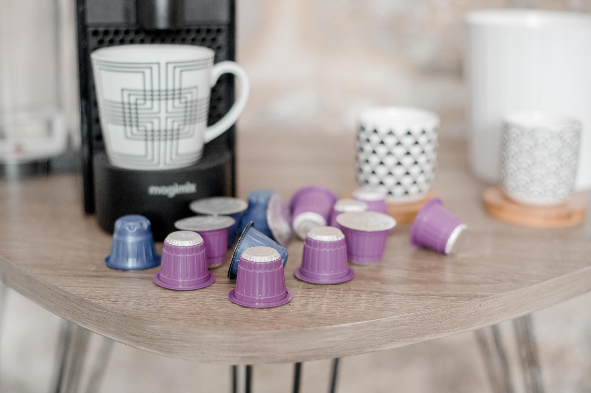 impact sur la planète du café en capsules : greenwashing bonjour