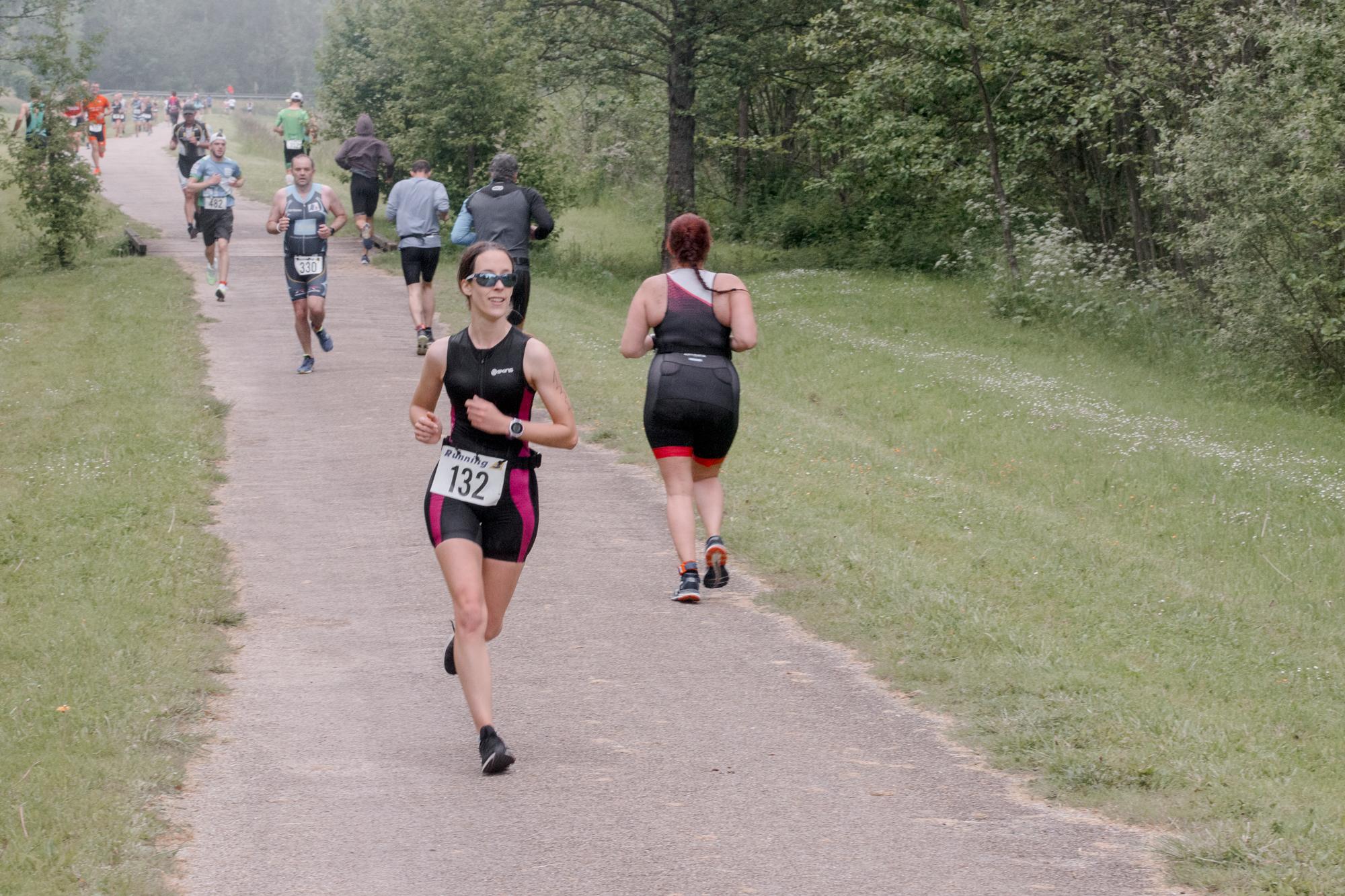 premier triathlon : course à pied