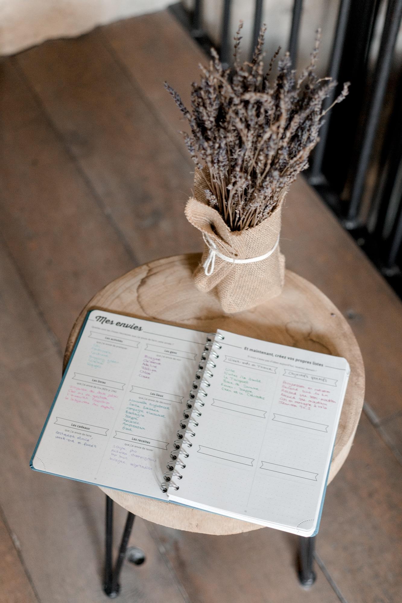 bullet journal my agenda écolo