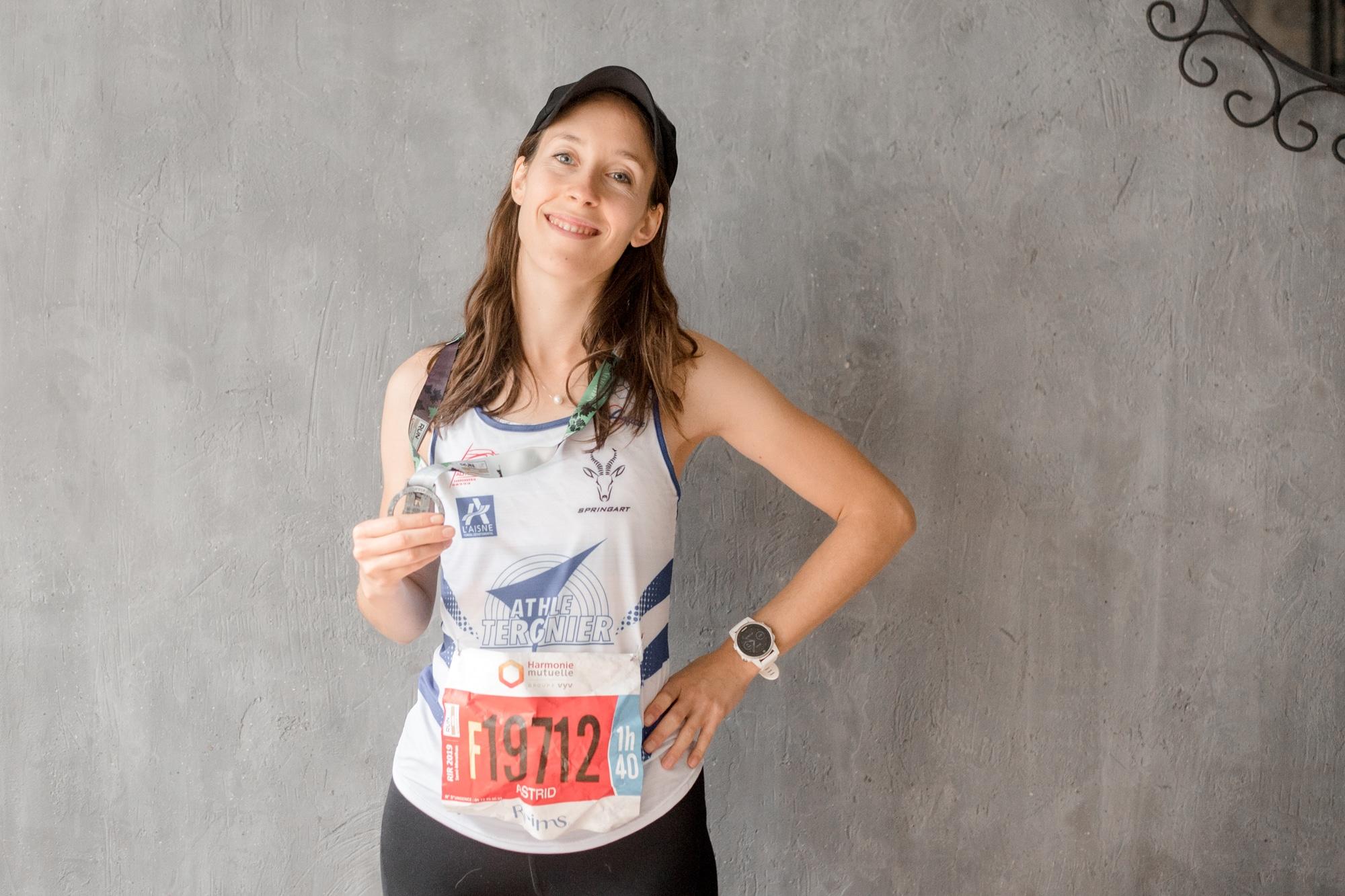 athlétisme en club semi-marathon