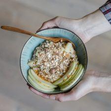 Recette : mon porridge pomme cannelle