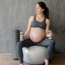 J'ai testé le programme Fitmama Pregnancy de Train Sweat Eat